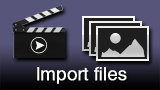 Importing files