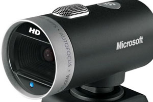 picture of a lifecam cinema webcam