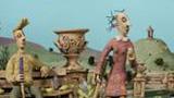 Ceramic puppets